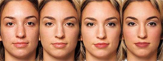 makeup-process